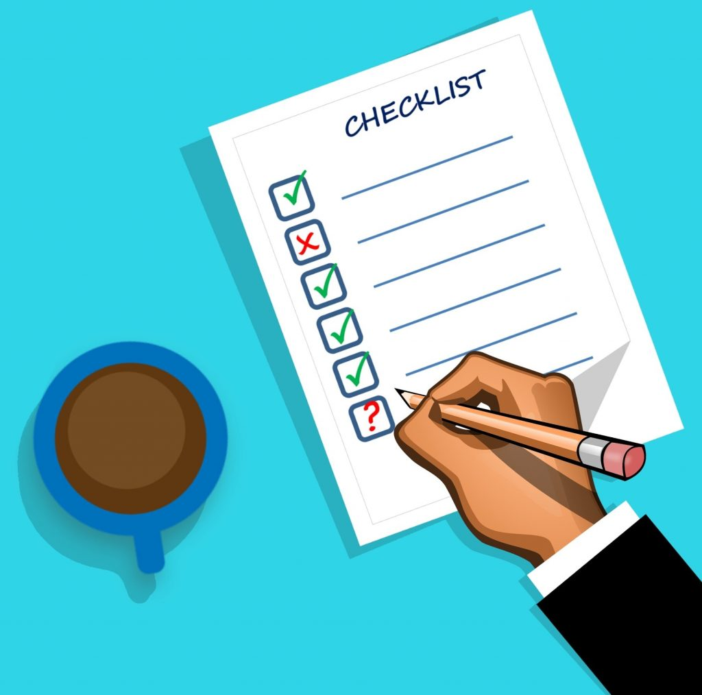 your helpdesk checklist